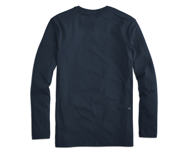 Mack Weldon | Men's Pima Long Sleeve T-Shirt - 100% Peruvian Pima ...